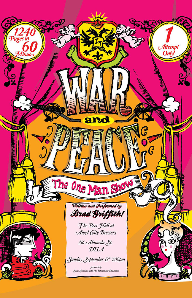 War and Peace: The One-Man Show