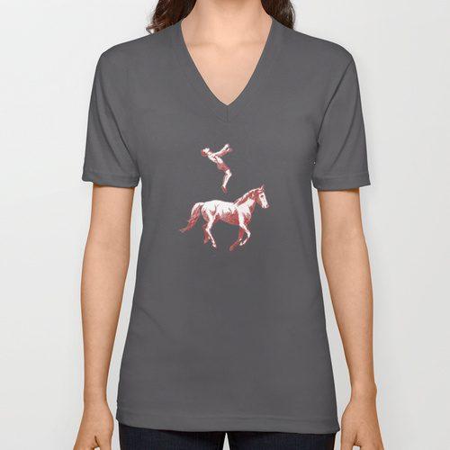 horse-vneck